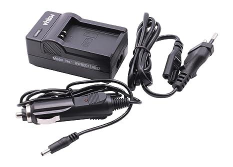 vhbw Cargador 220V, Cable Cargador para baterías de cámara ...