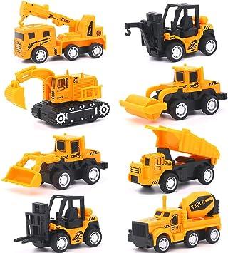 Vanplay Mini Construcción de Coches de Juguete 1:55 Modelo de Coche Friction Powered Car Toys para Niños 3 Años,Pack ...