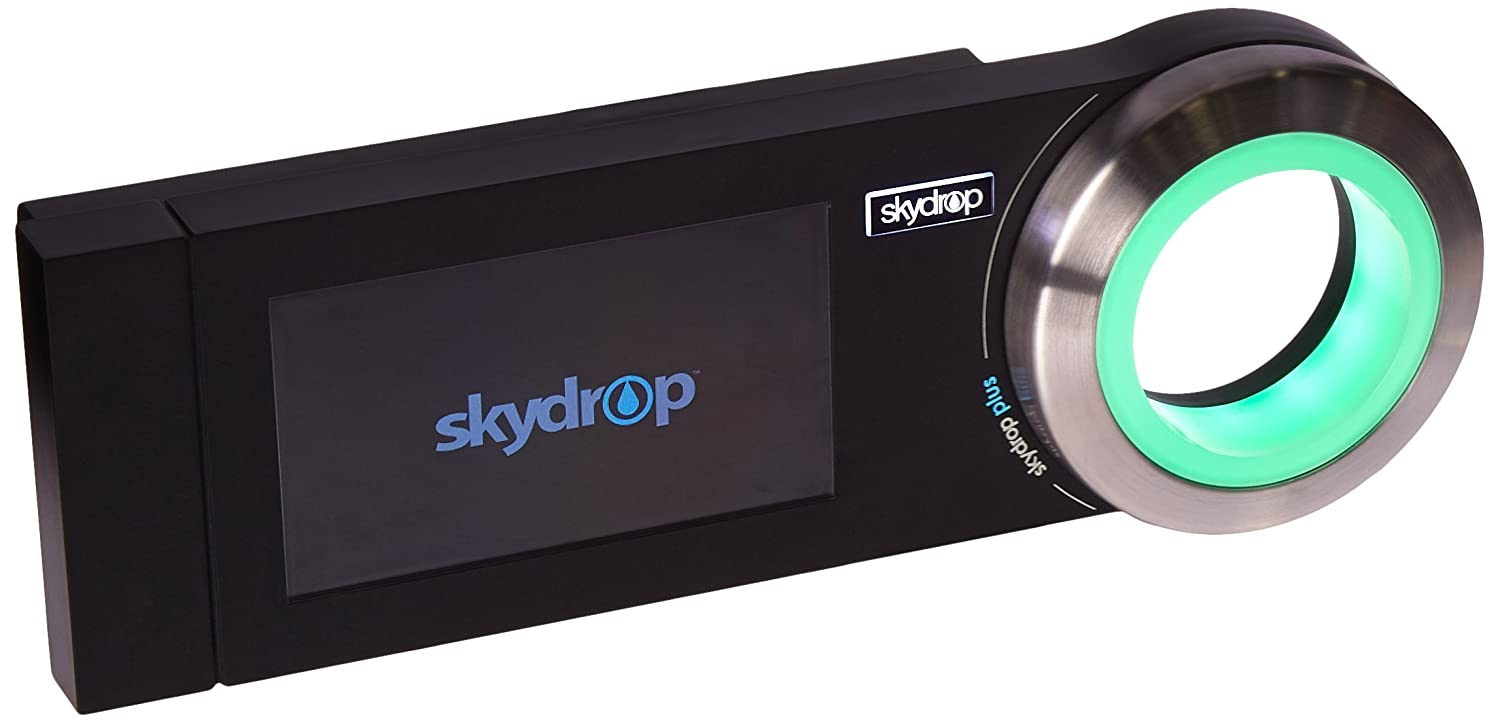 Skydrop Halo Smart Sprinkler System Controller | Alexa and Google Home Enabled | WiFi Connected | 8-Zone Irrigation System on Your Water Bill