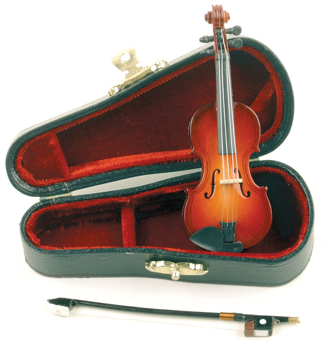 amazon com miniature violin small 4 inches everything else
