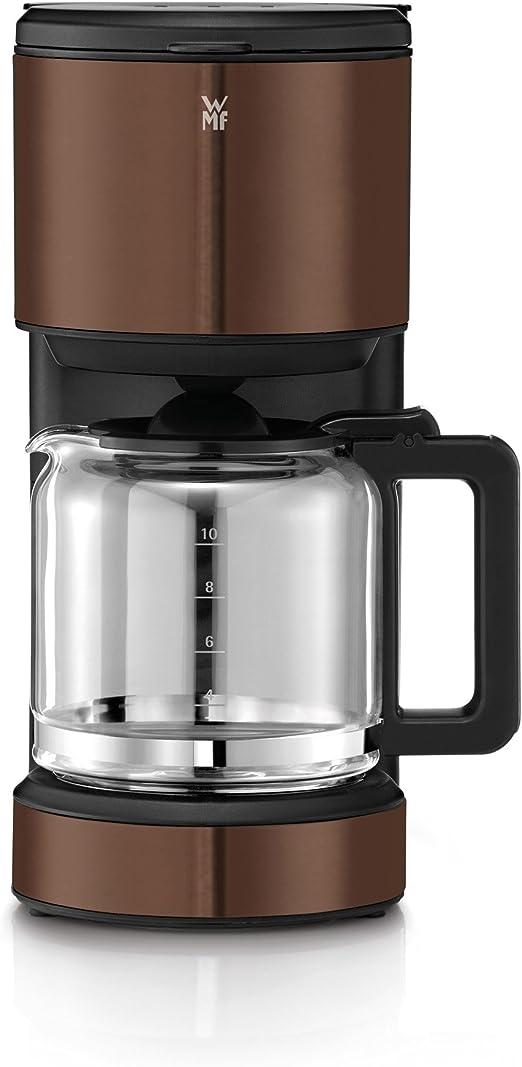 WMF TERRA Independiente - Cafetera (Independiente, Cafetera de filtro, 1,25 L, De café molido, 1000 W, Marrón): Amazon.es: Hogar