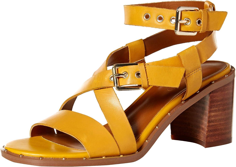 Franco Sarto Womens Halina Heeled Sandal