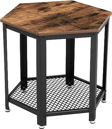 Vasagle Petite Table Basse Bout De Canape Table De Salon Vintage