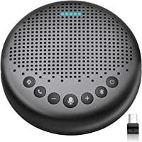 eMeet Luna Portable AI Conference Bluetooth Speakerphone