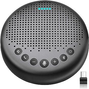 eMeet Luna Portable AI Conference Bluetooth Speakerphone