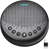 Bluetooth Speakerphone – eMeet Luna Updated AI Noise Reduction Algorithm Featured, Daisy Chain, USB Conference Speaker…