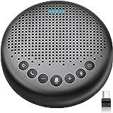 Bluetooth Speakerphone – eMeet Luna New AI Noise Redaction Algorithm Featured, Daisy Chain, USB Conference Speaker Phone…