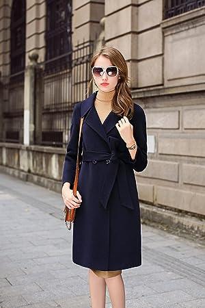 Manteau femme 2017 bleu marine