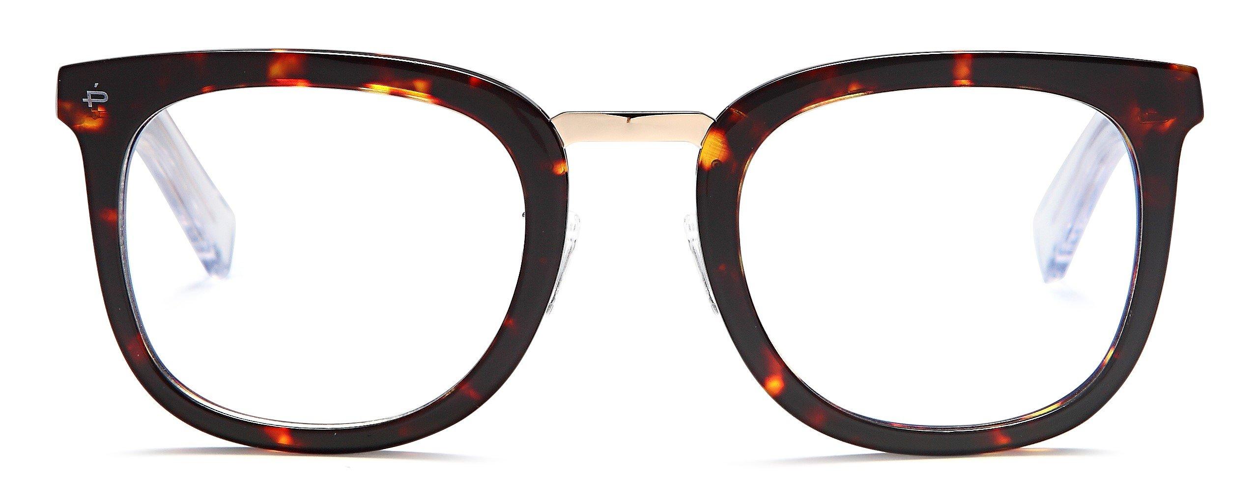 "PRIVÉ REVAUX ""The Alchemist"" Handcrafted Designer Eyeglasses With Anti Blue-Light Blocking Lenses"