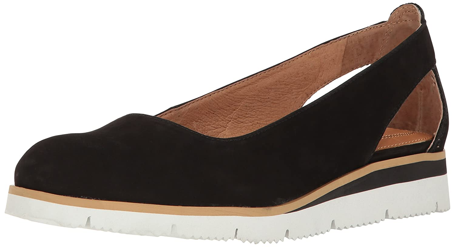 Corso Como Women's Retreat Flat B01NBE9KX7 5.5 B(M) US|Black Nubuck