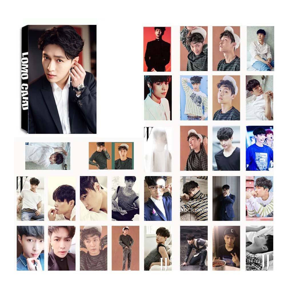 Style 09 D.O Lay 8.8 x 5.6 cm Meilleur Cadeau pour The Fans yovvin Lot de 30/Exo photocard//cartes photo chanyeol Chen xiumin sehun Baek Hyundai Suho Kai