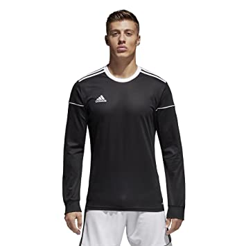 59b25b93999 Amazon.com   adidas Mens Squadra 17 Long Sleeve Jersey   Clothing