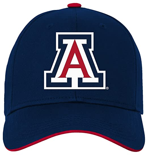 best website d9845 f8687 NCAA by Outerstuff NCAA Arizona Wildcats Kids   Youth Boys Basic Structured  Adjustable Hat, Dark