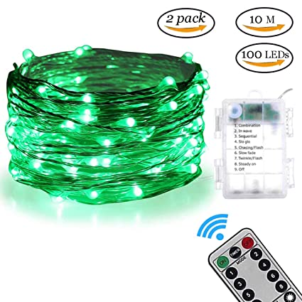 Amazon.com: YOUDO - Guirnalda de luces de hadas (100 ledes ...