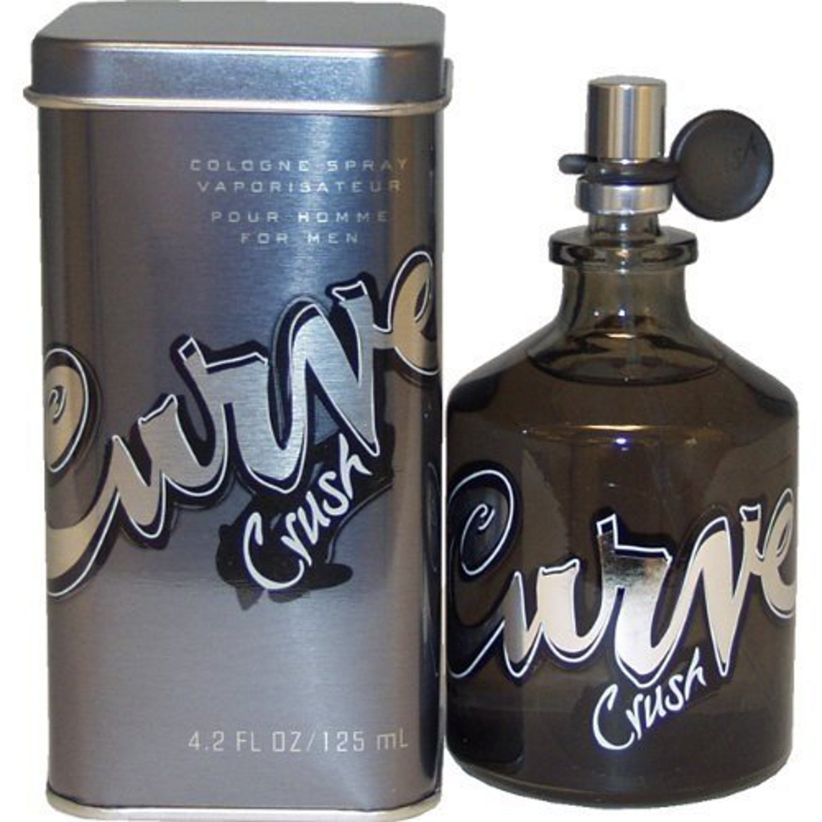 Curve Crush Eau de Cologne Splash For Men, 4.2 Ounce