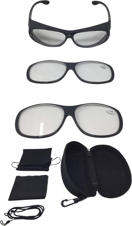 Vergrößerungsbrille Lupenbrille Zauberbrille Magneto Edition Lupe Auf Der Nase Optische Vergrößerung Auf 200 Oder 300 Anthrazit Bürobedarf Schreibwaren