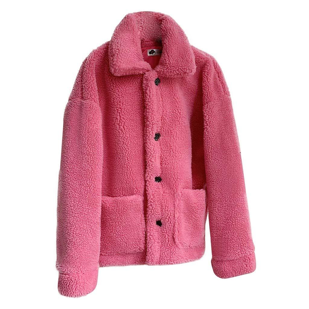Sunsee Women Plus Velvet Solid Color O-Neck Lapel Thinening Medium Long Pocket Coat New Halloween Christmas Coat