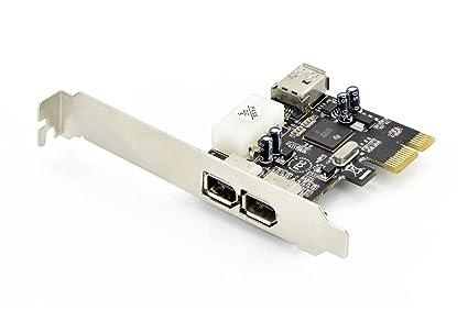 DIGITUS DS-30201-4 Tarjeta y Adaptador de Interfaz Interno IEEE 1394/Firewire - Accesorio (PCI, IEEE 1394/Firewire)