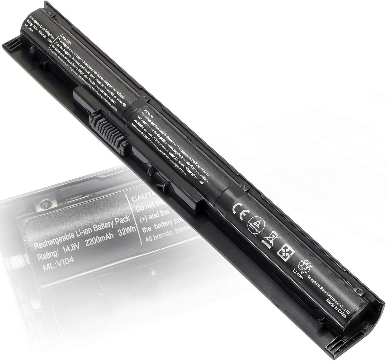 756745-001 VI04 14.8V 2200mAh Laptop Battery Replacement for HP V104 Battery Spare 756743-001 756744-001 756478-421 756478-422 756478-851 756479-421 TPN-Q139 TPN-Q140 HSTNN-LB6K Probook 450 G2 440 G2