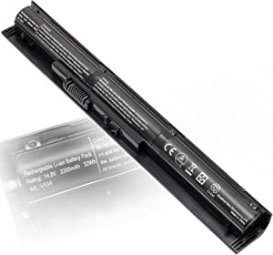 756745-001 VI04 14.8V 2200mAh Laptop Battery Replacement for HP V104 Battery Spare 756743-001 756744-001 756478-421 756478-422 756478-851 756479-421 TPN-Q139 TPN-Q140 HSTNN-LB6K Probook 450 G2 440 G2