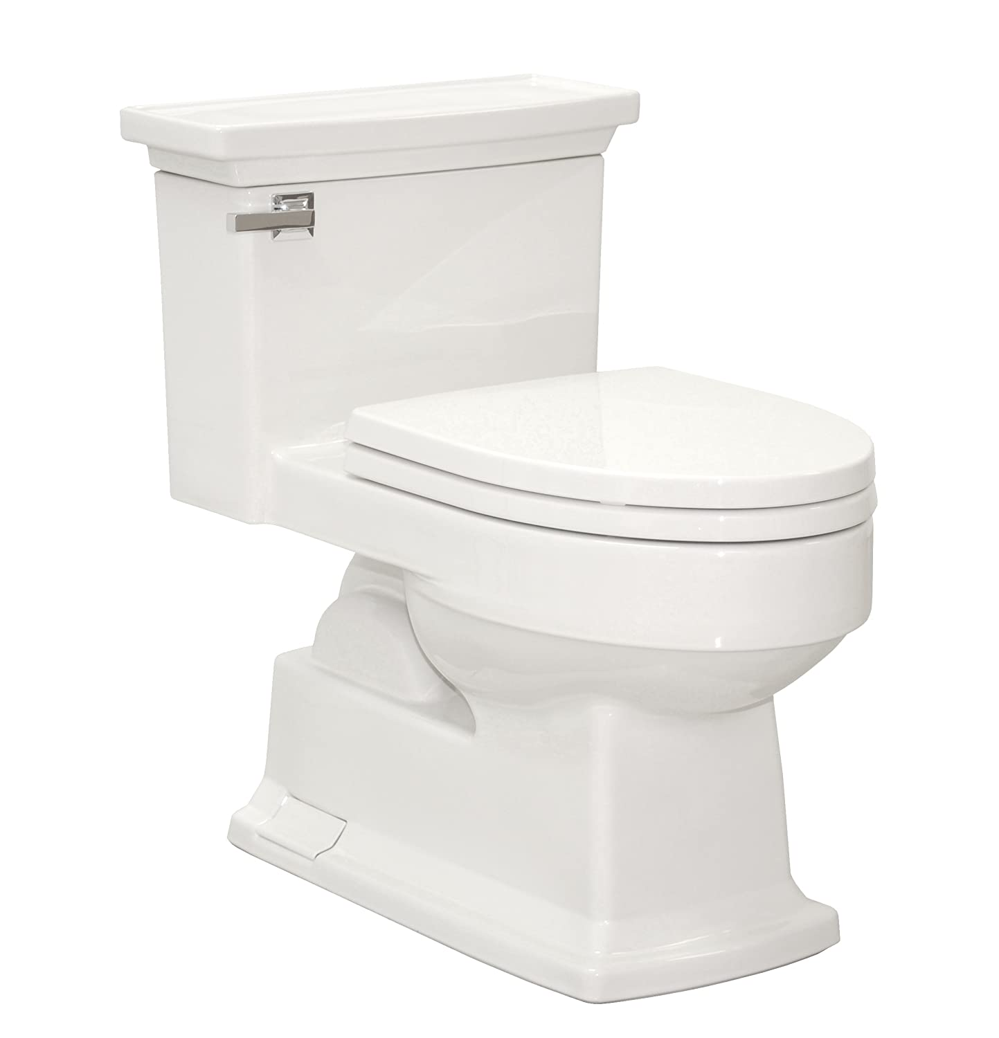 TOTO MS934214SF#01 Lloyd One Piece Toilet with Plastic SoftClose ...
