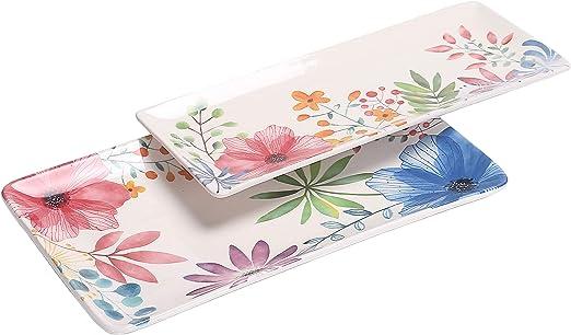 Bico Protea Cynaroides Ceramic Sugar and Cream Set Dishwasher Safe