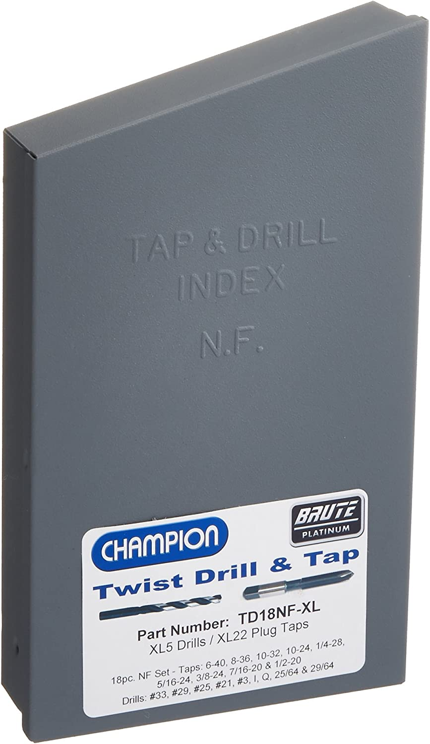 Champion Cutting Tool DT22HEX-3//8-16 Combination Drill and Tap