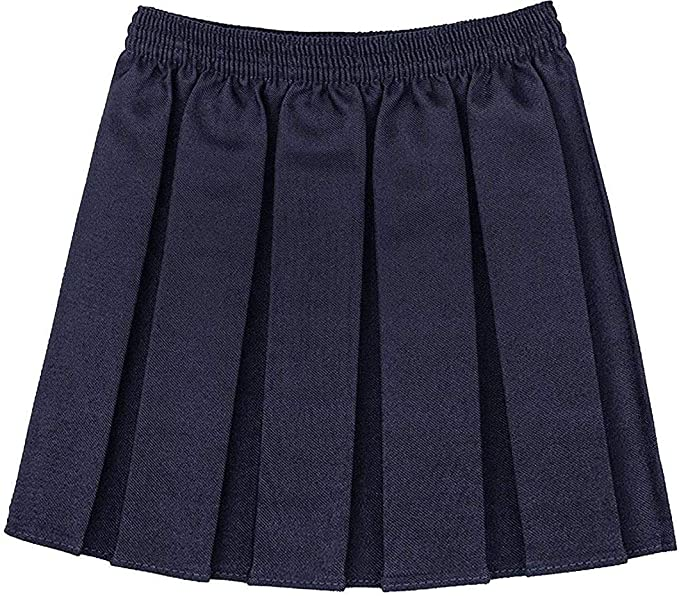 RIDDLE - Falda - para niña Negro Azul Marino 5-6 Años: Amazon.es ...