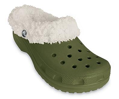 6deb53b67 Crocs Mammoth - UK5 (M5 W7) Army Green Oatmeal  Amazon.co.uk  Shoes ...