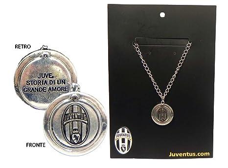 3e13949f93 Juventus LAC13JV Collana in metallo Prodotto Ufficiale: Amazon.it ...