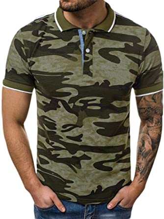 Camisa Tipo Polo de Manga Corta para Hombre, de Seguridad ...