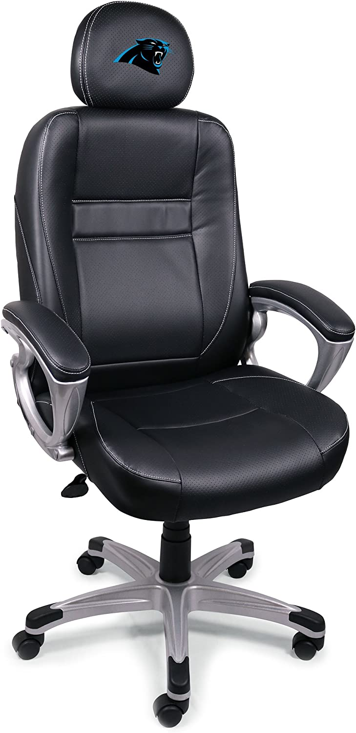 Wild Sports Official NFL Leather Office//Coaches Chair