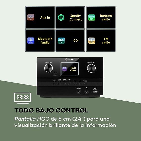 Auna Connect System S Equipo de música: Amazon.es: Electrónica