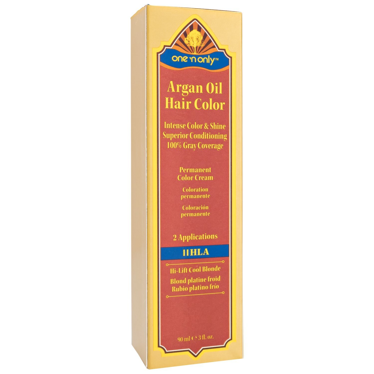 Amazon One N Only 11hla High Lift Cool Blonde Argan Oil