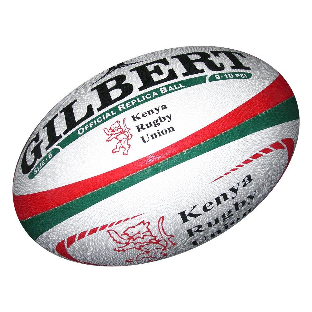 Gilbert Kenya réplica balón de Rugby: Amazon.es: Deportes y aire libre