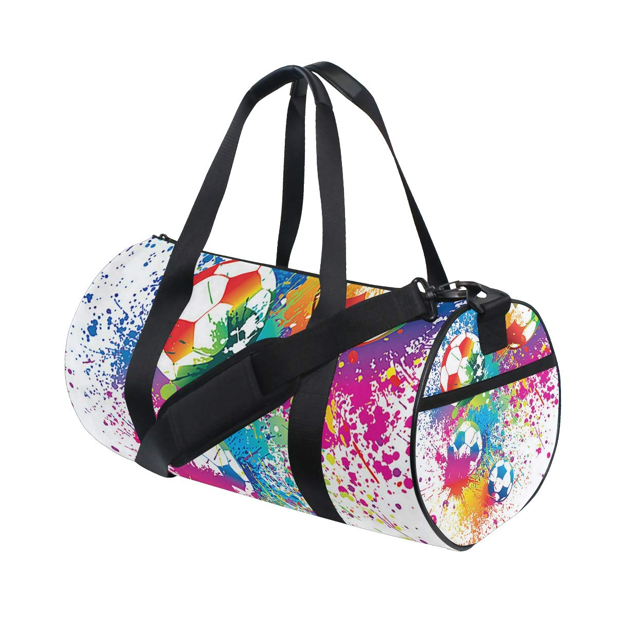 Colorful Sports Gym Bag Large Capacity Travel Duffel Bag