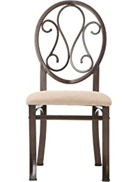 southern enterprises lucianna dining chairs set of 4 dark brown frame finish with beige suede