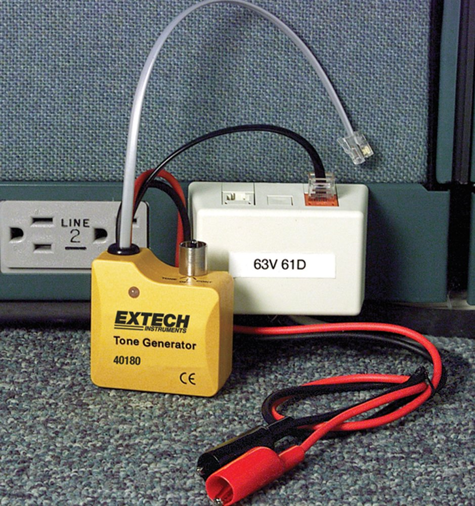 Extech 40180 Tone Generator And Amplifier Probe Circuit Breaker Jacks Is Your Place We Have The Finder Kit Home Improvement