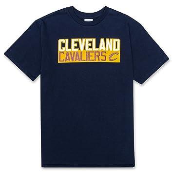 Majestic Cleveland Cavaliers de Lebron James # 23 NBA juventud vertical nombre y número camiseta,