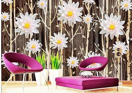 Carta Da Parati Fiori Di Loto : Wapel carta da parati personalizzata murales fiore di loto