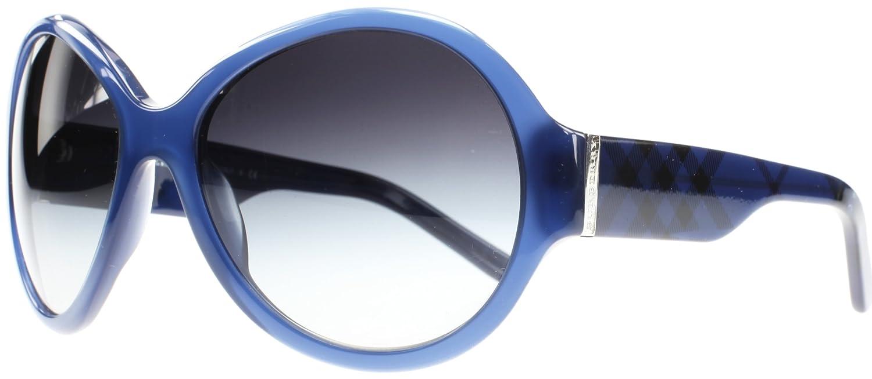 Burberry 0BE4102 30098G, Occhiali da Sole Donna, Blu (Violet Blue/Gray Gradient), 61