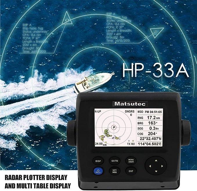 Sistema de navegación GPS Marino, 4,3 Pulgadas de Pantalla LCD de Dispositivos Profesionales de la Alta sensibilidad del transpondedor Combinado GPS Marino navegador de la navegación con Alarma AIS: Amazon.es: Electrónica