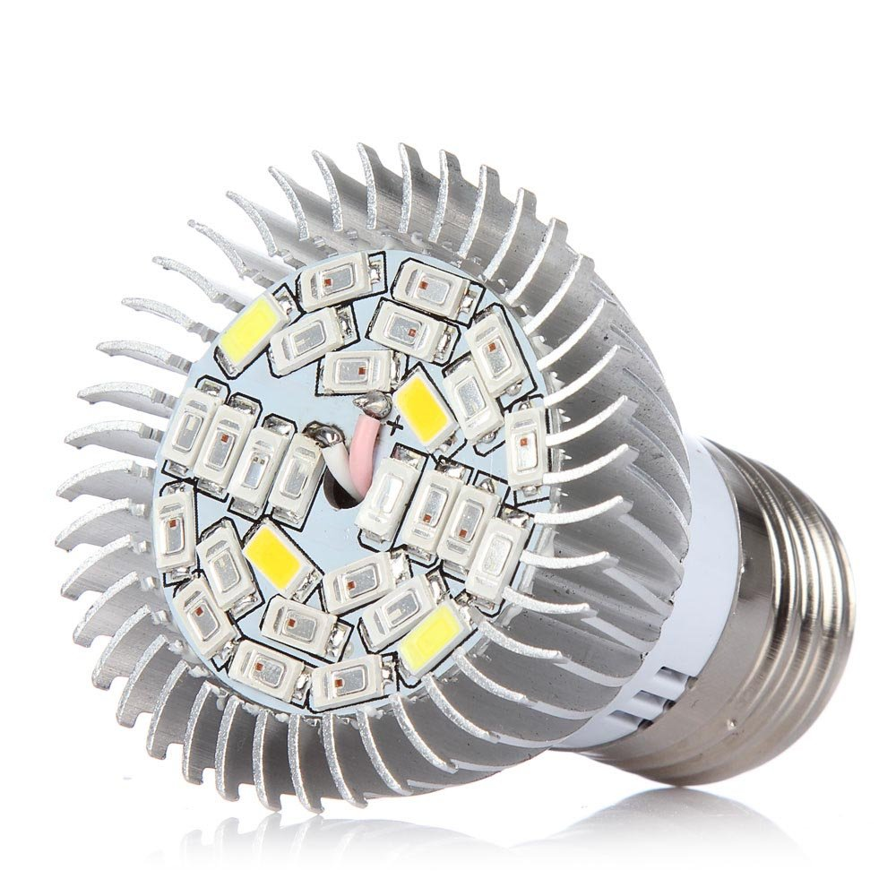 Amazon.com: Full Spectrum 28W E26 LED Grow Light Bulb, 4 Pack Grow ...