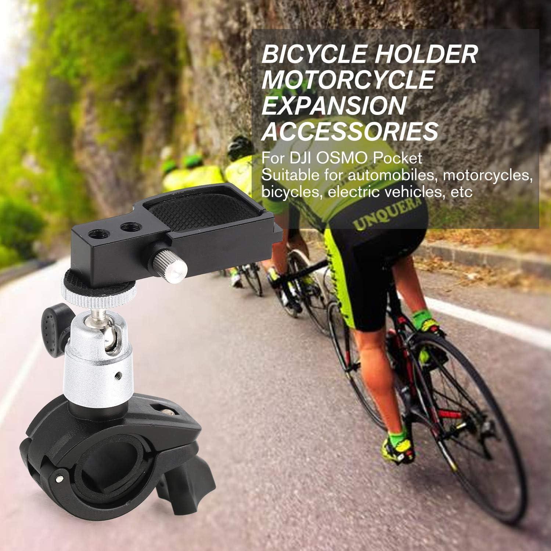 FairytaleMM Estabilizador de cardán de Mano Universal Soporte de Montaje de Bicicleta Soporte de Bicicleta Abrazadera Stander Clip OSMO Pocket Accesorios (Negro): Amazon.es: Electrónica