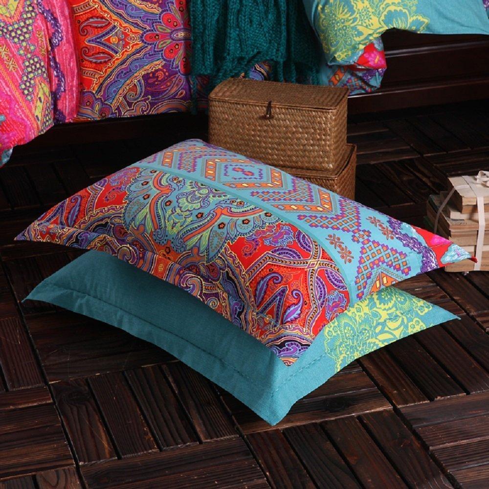 3Pcs Colorful Boho Bedding Set Bohemian Duvet Covers