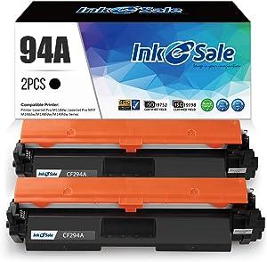 INK E-SALE Compatible Toner Cartridge Replacement for HP 94A CF294A Toner Cartridge Black Ink for HP Laserjet Pro M118dw HP Laserjet Pro MFP M148dw M148fdw M149fdw Printer – 2Pack