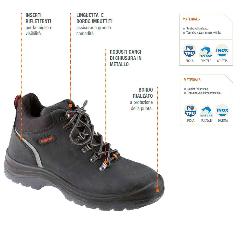 KAPRIOL Zapato de Seguridad Tucson Alta: Amazon.es: Bricolaje y herramientas