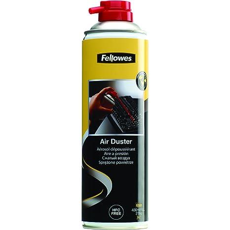 Fellowes 9977804 kit de limpieza para computadora Limpiador de aire comprimido para limpieza de equipos Teclados 650 ml - Kit de limpieza para ...