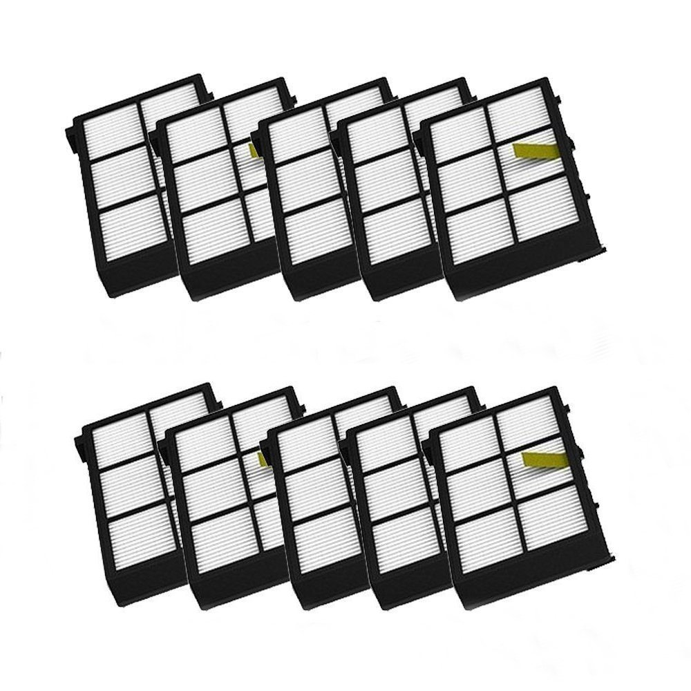 LOVE(TM)10 pack HEPA Filter filters For Robot 800 series 870 880 Vacuum Cleaning Robots Brand New