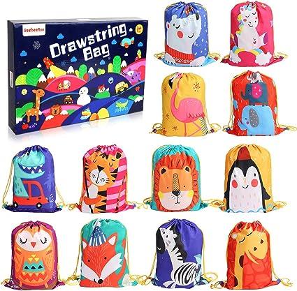Amazon.com: 12 bolsas de regalo para fiesta de cumpleaños ...